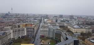 Berliini panorama tornin näköala