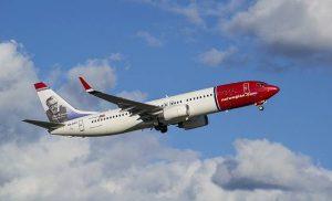 Norwegian lentokone