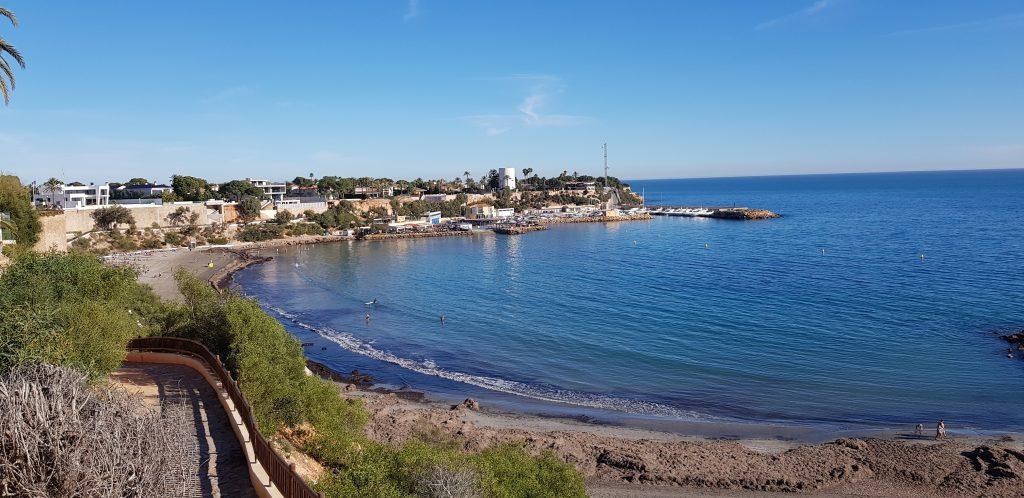 Uimaranta Espanjassa